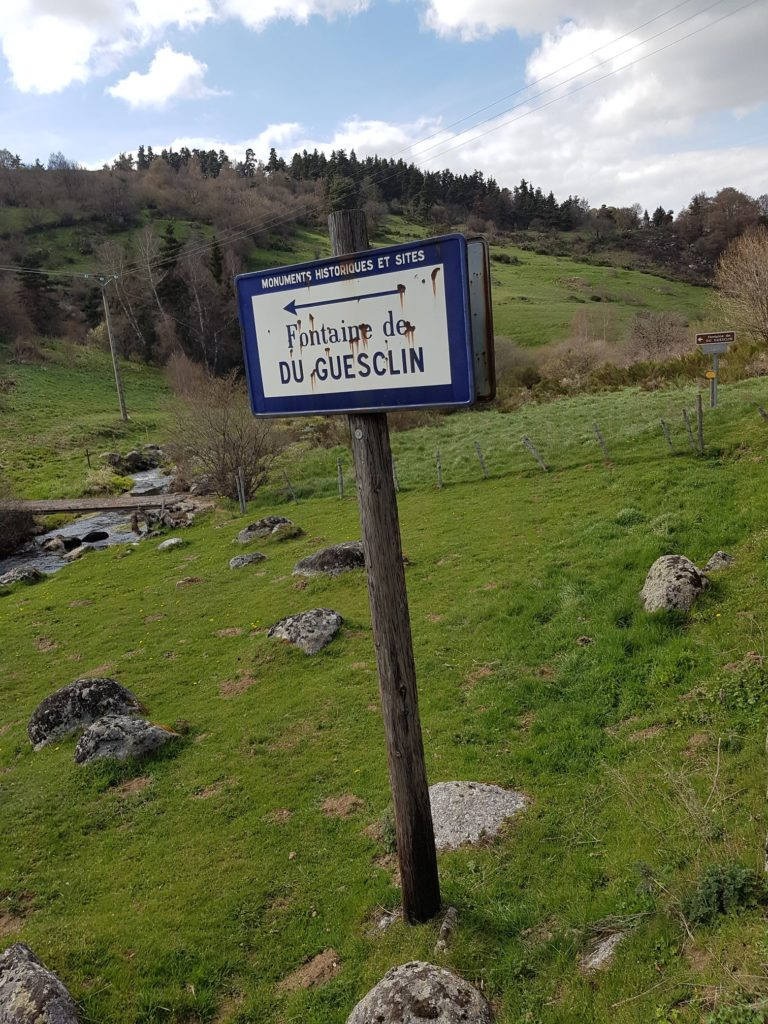 Fotnaie de bertrand du Guesclin guerre cent ans